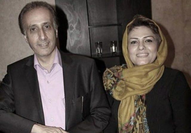 مشهورترین گوینده اخبار تلویزیون در کنار همسرش +عکس
