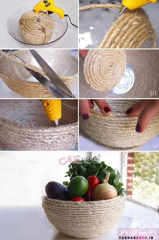 ظروف عید را خودتان بسازید