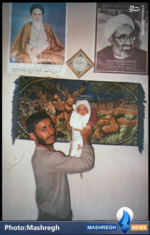 عکس کمتر دیده شده از «حاج همت» و پسرش