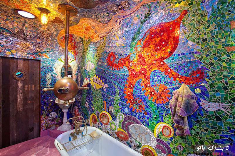 ایدهایی بی نظیر برای طراحی حمام