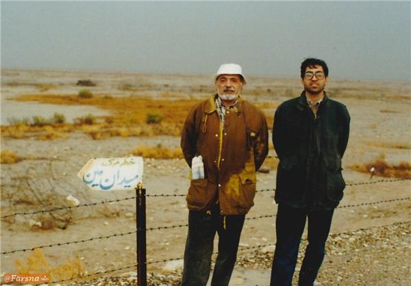عکس قدیمی از کارگردان «دلیران تنگستان» در شلمچه