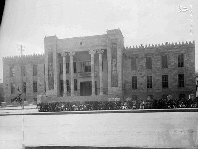 قدیمیترین عکس از ساختمان بانک ملی