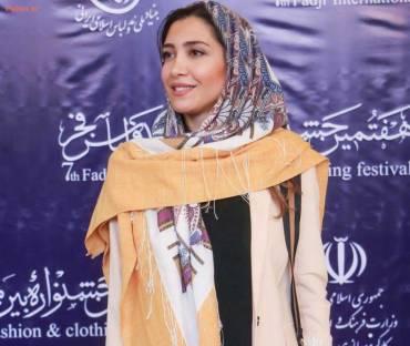 نیکی مظفری در اختتامیه جشنواره مد و لباس +عکس