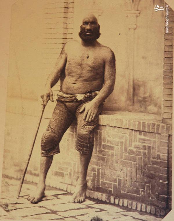 قویترین مرد ایران در زمان قاجار +عکس