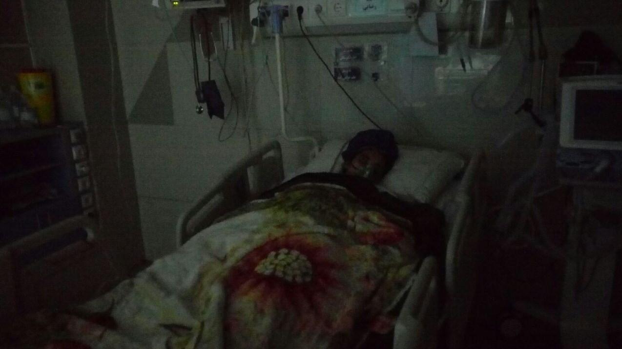 آخرین وضعیت فاطمه، قربانی انفجار در مدرسه +عکس