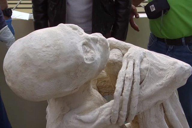 کشف مومیایی عجیب ۳ انگشتی جنجالی شد +عکس