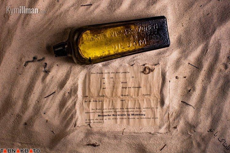 کشف قدیمی ترین پیغام جهان در یک بطری