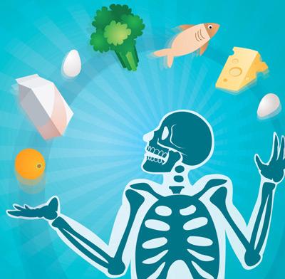 درمان استخوان درد, بیماری پوکی استخوان