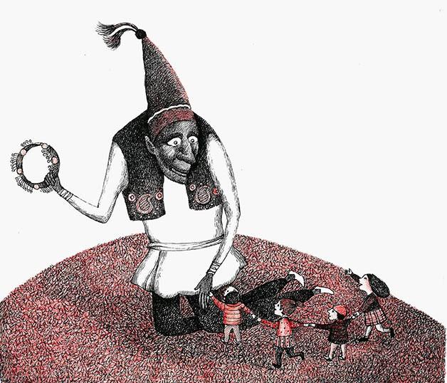 چرا حاجی فیروز سیاه است؟