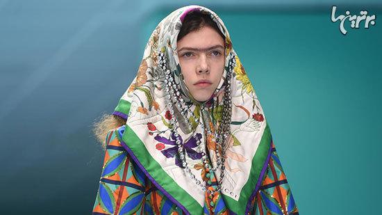 زنان قاجار در فشن شو «گوچی»