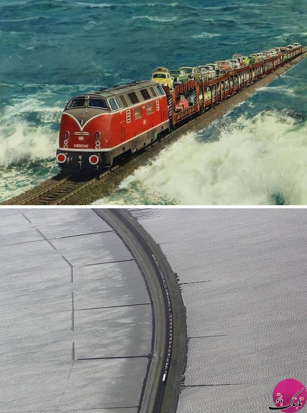عجیب ترین خطوط راه آهن جهان