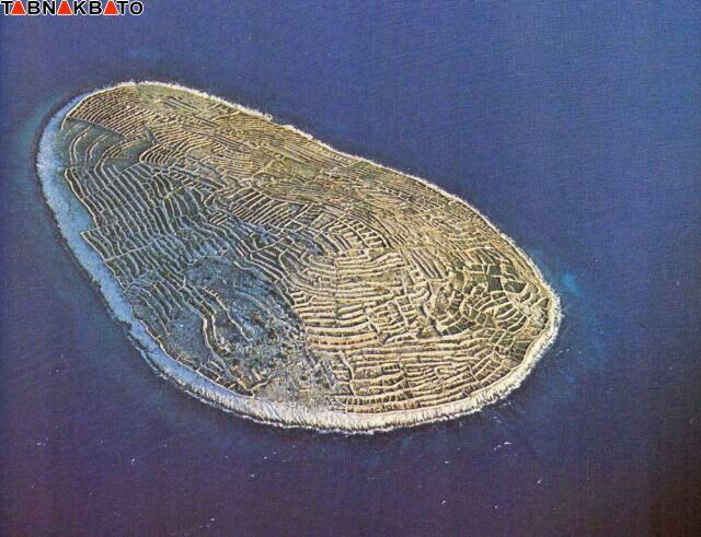 راز جزیره ای که شبیه اثر انگشت است