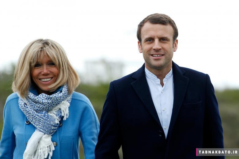 ملاقات با بانوی اول فرانسه و همسر مانوئل مکرون