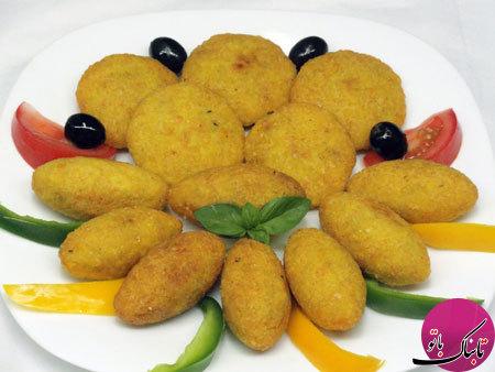 طرز تهیهی کبه حلب، یک غذای عربی