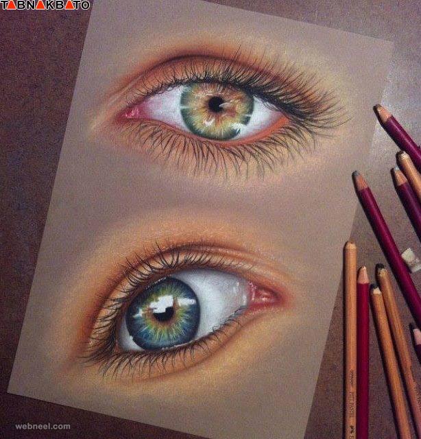 عکس+کودک+چشم+رنگی