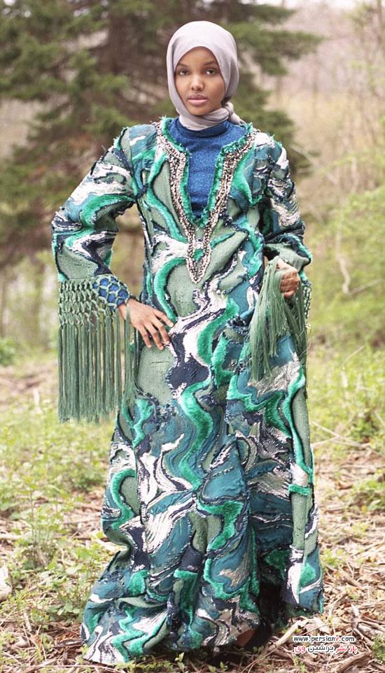 اولین مدل باحجاب در تبلیغات بین المللی فشن