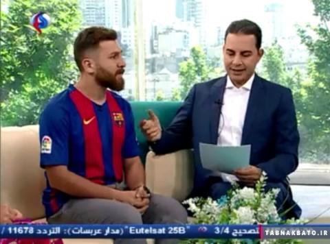 حضور رضا پرستش، «مسی» ایران در شبکه العالم