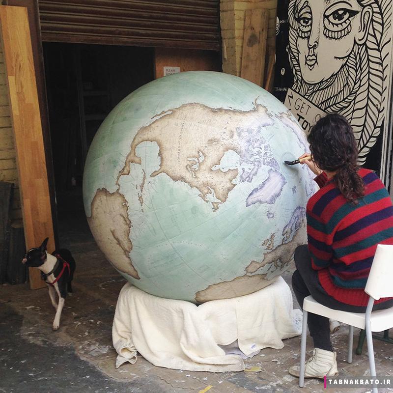 کرههای جغرافیایی 60 هزار دلاری این استادکاران نابغه