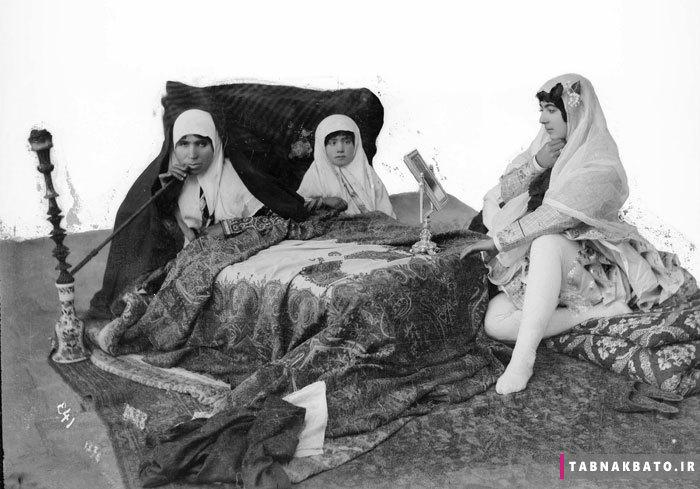 اندر باب چاقی زنان در زمان قاجار / ایرانیان قدیم گرد پسند بودند!