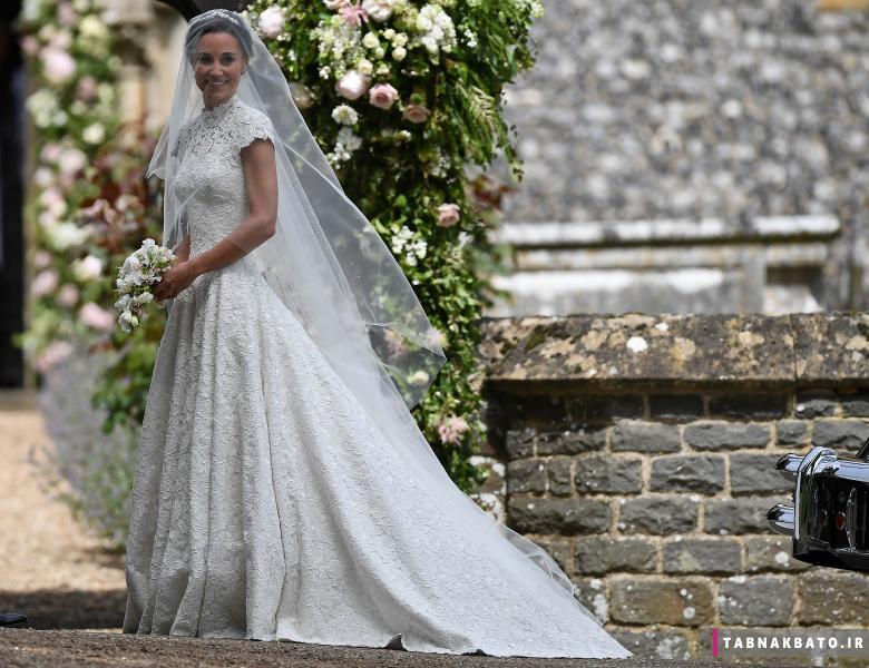 عروسی پیپا میدلتون خواهر کیت میدلتون به روایت تصویر
