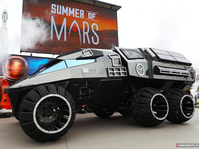 رونمایی از مریخ نورد ناسا، مجهز به سیستمهای پیشرفته