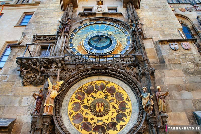 ساعت نجومی شهر پراگ و افسانههای این ساعت