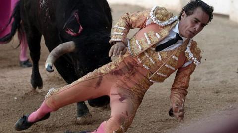 پایان غم انگیز گاوباز اسپانیایی حین اجرای نمایش