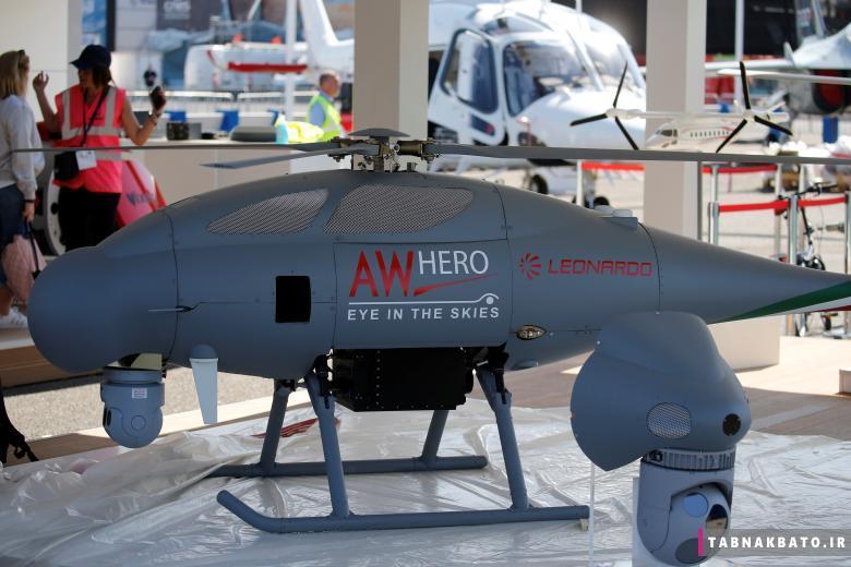 تکنولوژیهای نوین و پیشرفته در نمایشگاه هوایی پاریس