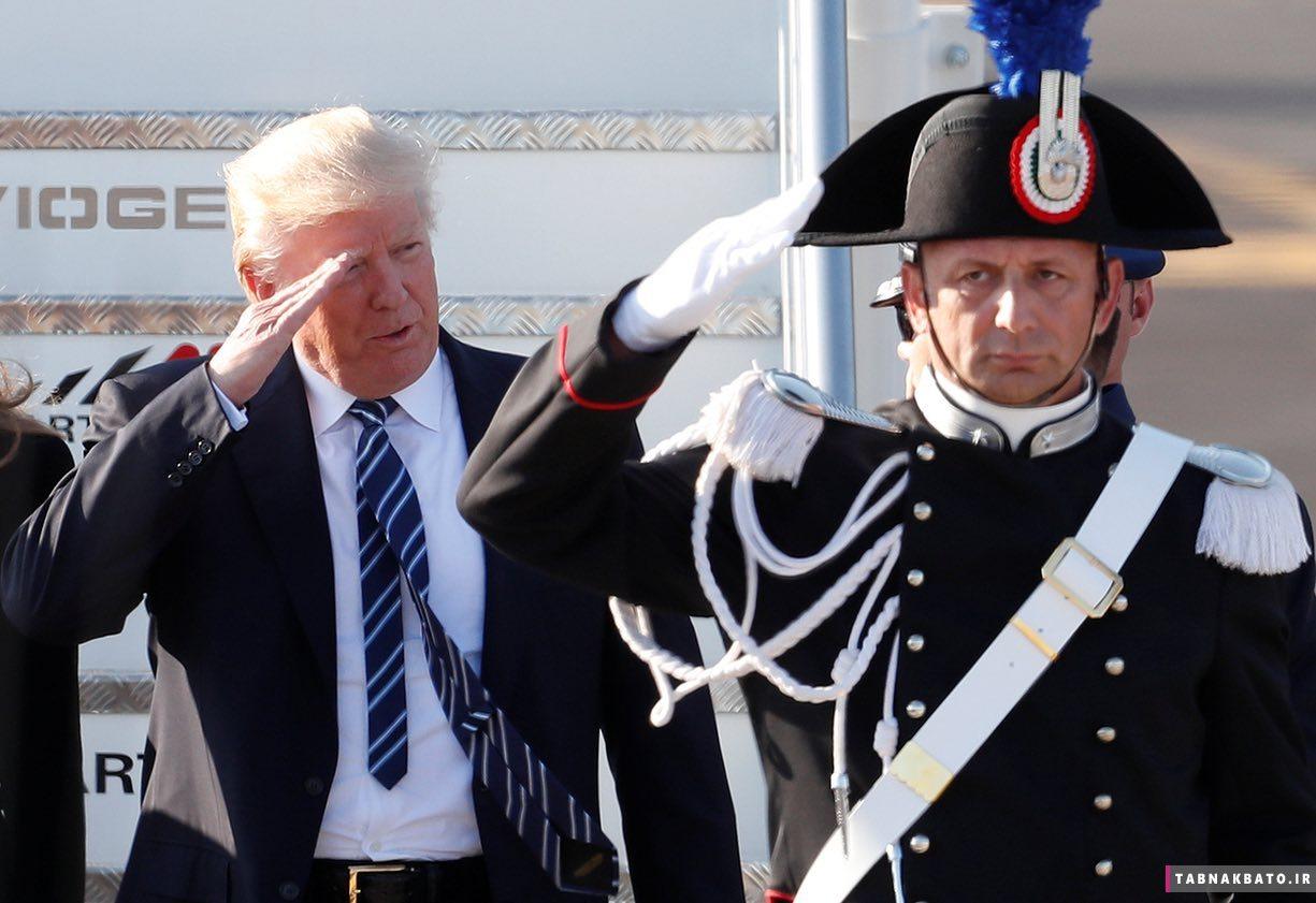 نکات جالب اولین سفر خارجی دونالد ترامپ به روایت تصویر!