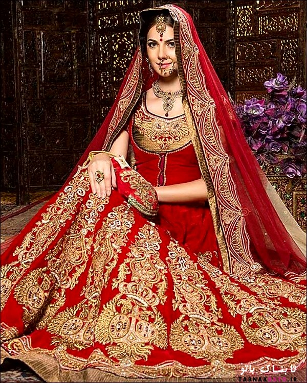 چرا لباس عروس های هندی