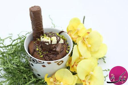کیکهای شکلاتی فنجانی بدون نیاز به فر