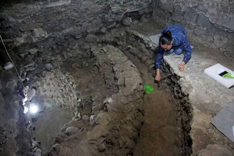 کشف برج ساخته شده از جمجمه انسانها در مکزیک