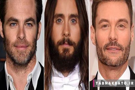 بازیگران هالیوودی با ریش خوش تیپ ترند یا بدون آن؟