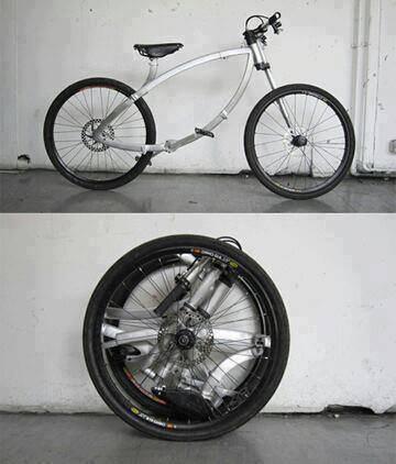طرح فوق العاده حمل راحت دوچرخه +عکس