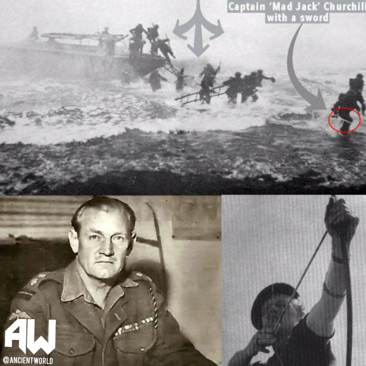 تنها افسر جنگ جهانی که سلاحش شمشیر بود+عکس