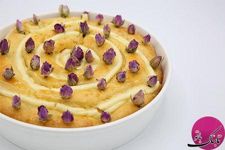 طرز تهیهی کیک حلزونی