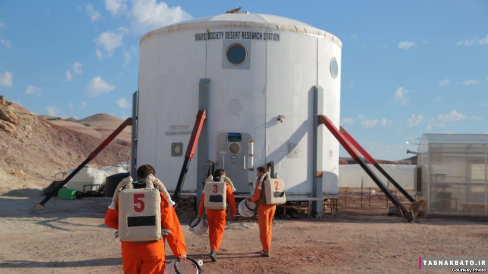 زندگی طراحان «Ikea» در مرکز تحقیقات مریخ برای ایده گرفتن!