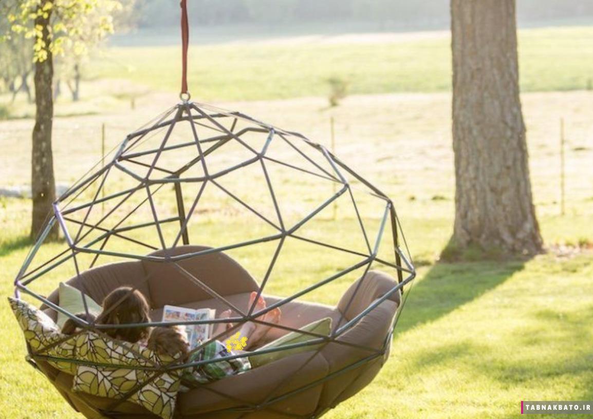 تاب های مدرن برای داشتن اوقات خوش در حیاط خانه