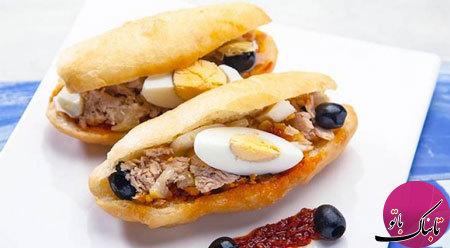 ساندویچ کوچک تونسی، لذیذ و متفاوت