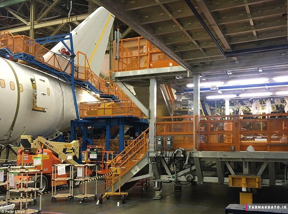 تصاویری کمتر دیده شده از کارخانه بوئینگ اورت واشنگتن