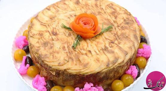 کیک سیبزمینی، شگفتانهای لذیذ