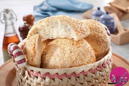 طرز تهیهی نان کنجدی
