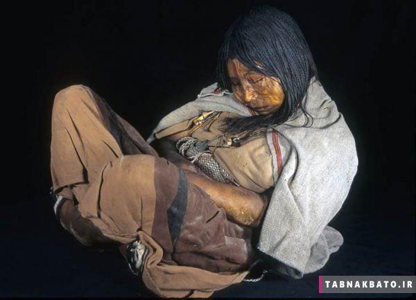 مومیایی پانصد ساله که معتاد به کوکائین بود