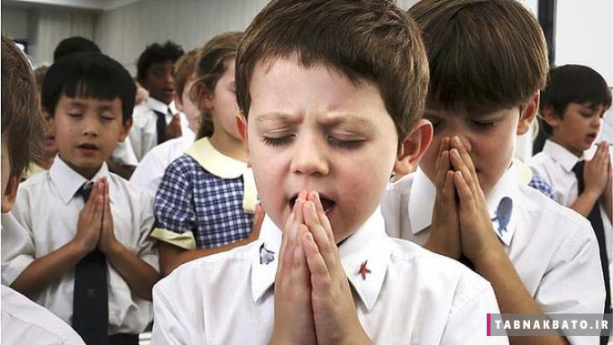 نماز اجباری از مدرسه ابتدایی تا کارخانه چسب هل!