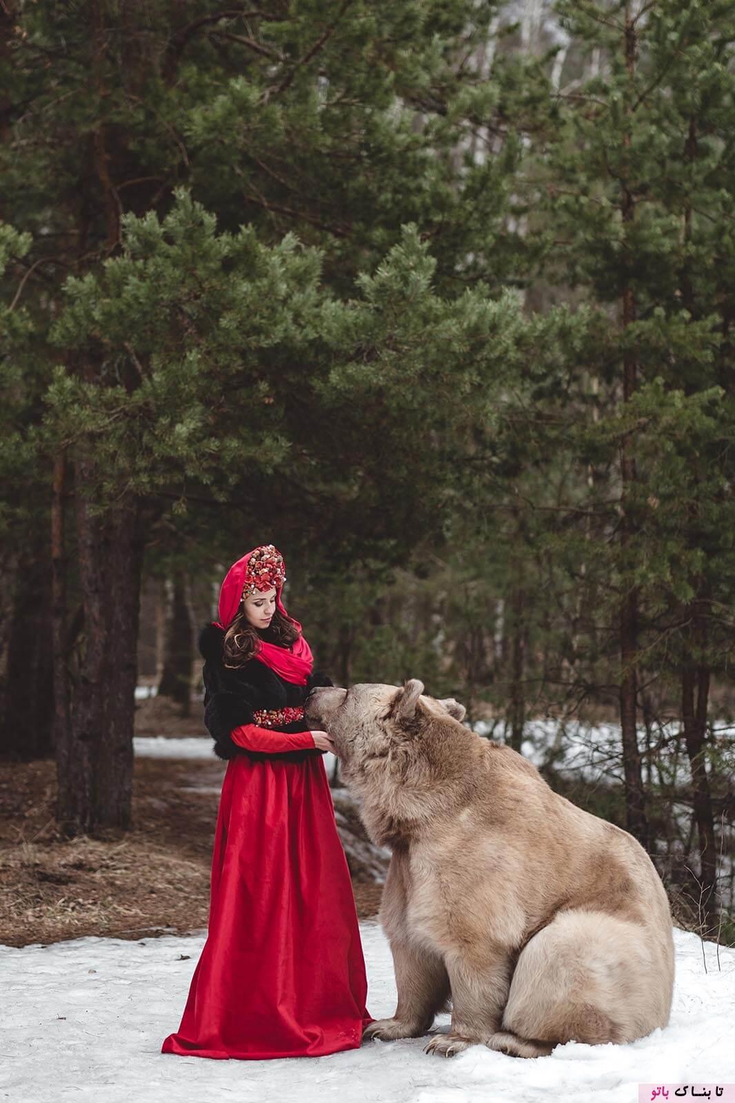 عکس های خیالی در طبیعت سرد روسیه