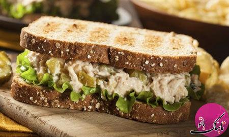 ساندویچ تن ماهی و ذرت، یک ساندویچ سرد