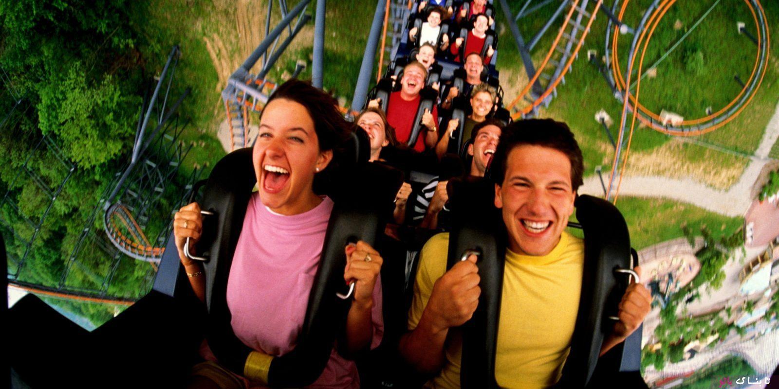 چرا بعضی از مردم از سوار شدن بر «ترن هوایی» لذت می برند؟