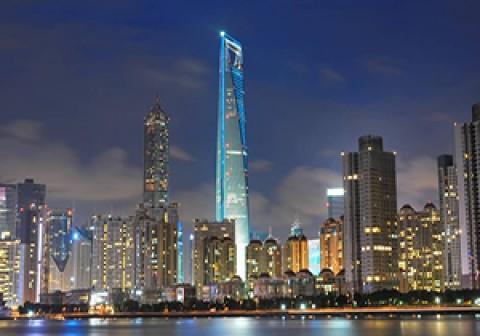 مرتفعترین آسمانخراش چین در شانگهای