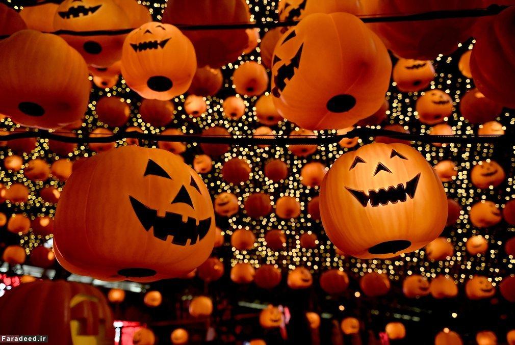 هالووین از کجا آمد + عکس