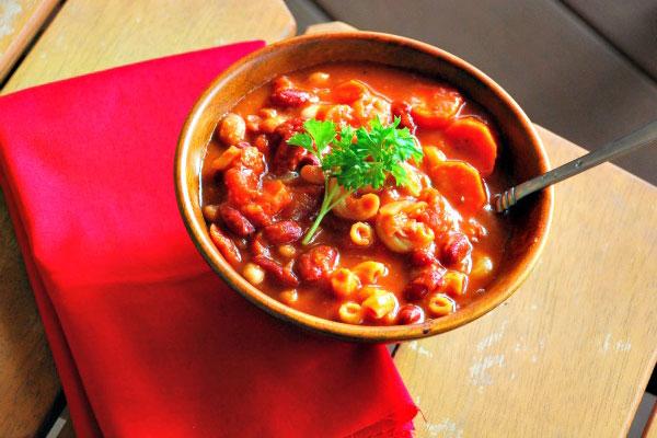 لوبیا چیتی خوش طعم ایتالیایی